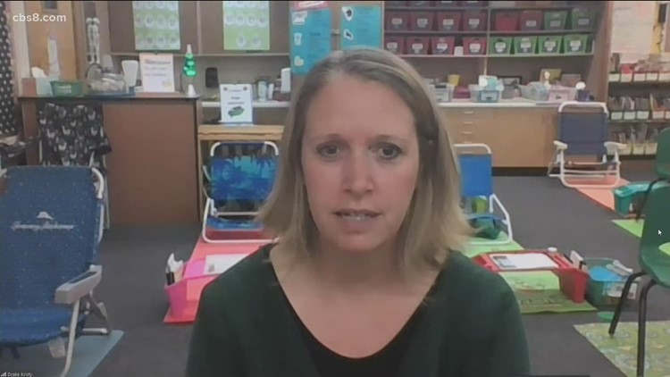 SDUSD Elementary school teacher gives update on how the transition has been going to in-person learning