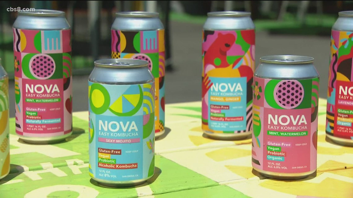 Out and About: Nova Easy Kombucha