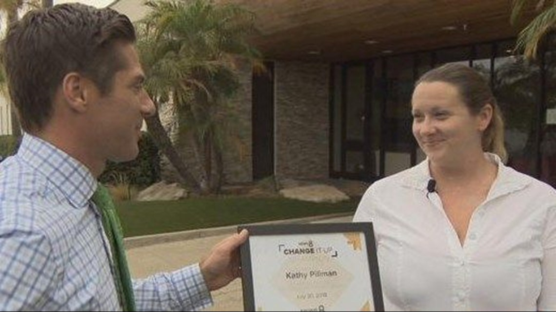 Change It Up: Kathy Pillman honored for cleaning up trash in El Cajon