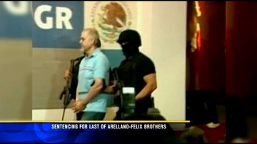 Last of Arellano Felix brothers sentenced to 15 years in