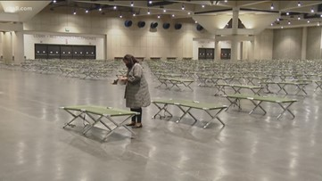 Nearly 1,000 homeless San Diegans moved into Convention Center