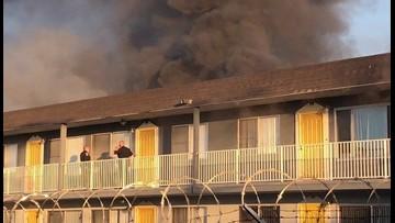 Crews battle fire at Chula Vista apartment complex | cbs8 com