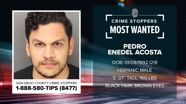 Crime Stoppers Most Wanted: Pedro Enedel Acosta