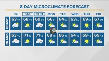 MicroClimate Forecast Friday Jan. 17, 2020 (Morning)