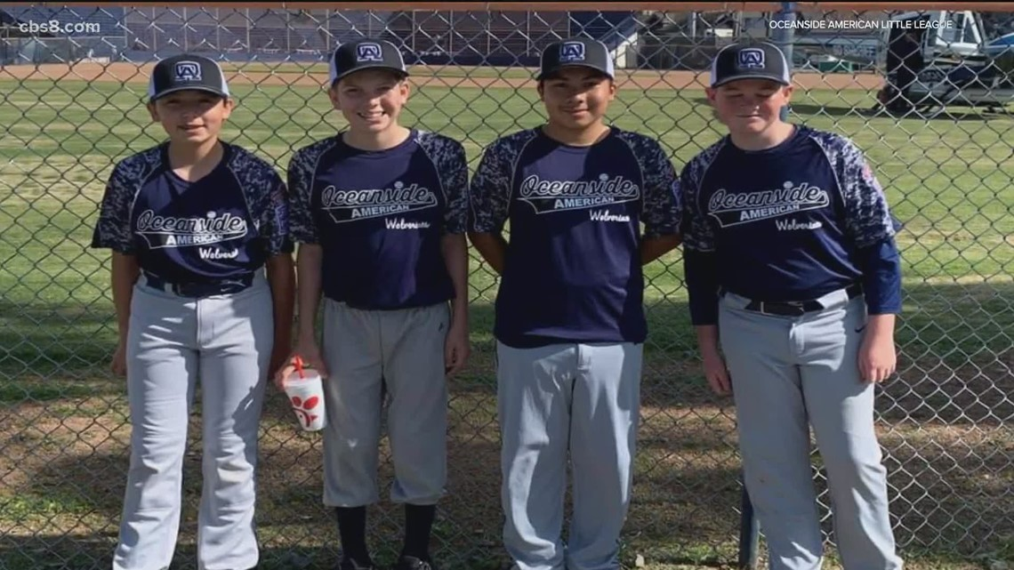 Your Stories: Oceanside police looking for thief that stole equipment from little league