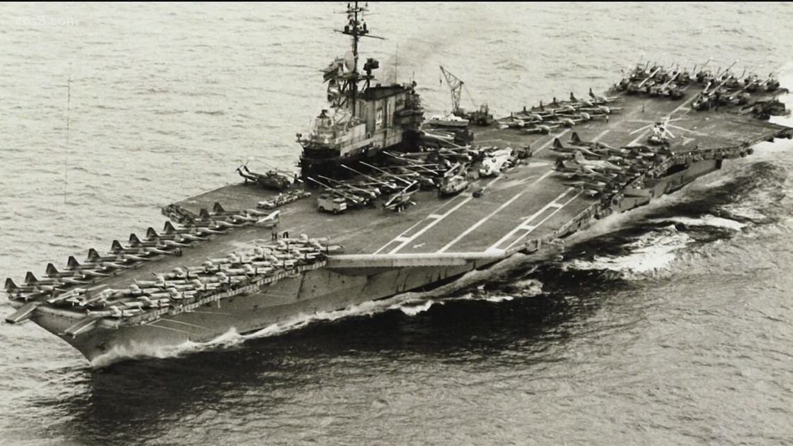 45 years later: USS Midway Air Boss reflects on mission that saved more than 3,000 lives
