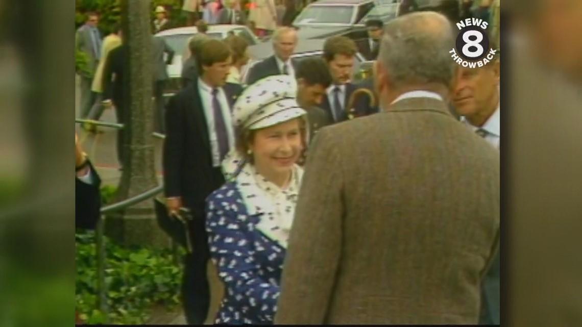 News 8 Throwback: Queen Elizabeth's visit to San Diego in 1983