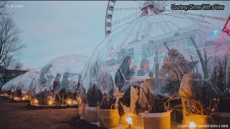 Dinner with a view...in a dome?