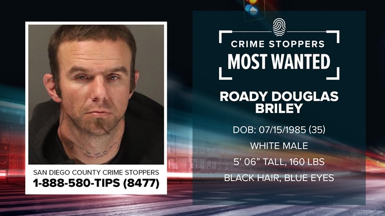 Crime Stoppers Most Wanted: Roady Douglas Briley