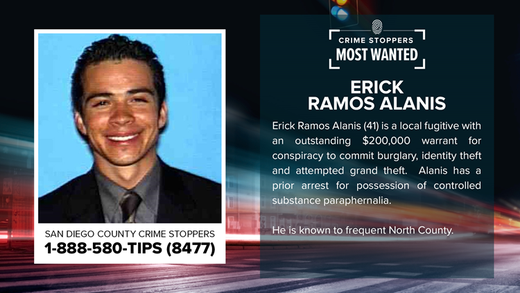 Crime Stoppers Most Wanted: Erick Ramos Alanis