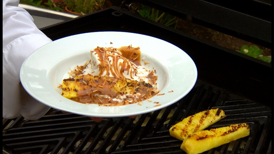 Cooking with Styles: Grilled pineapple