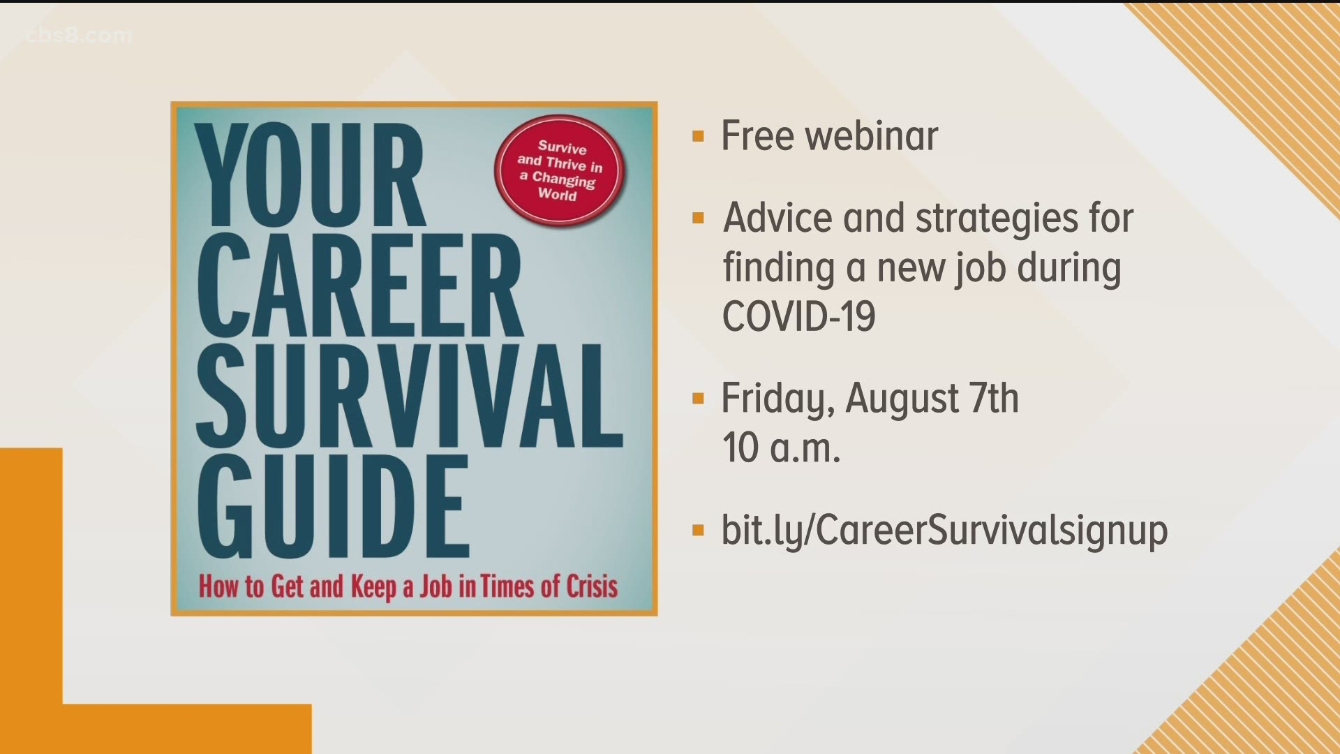 Career And Job Search Help Amidst A Pandemic Cbs8 Com