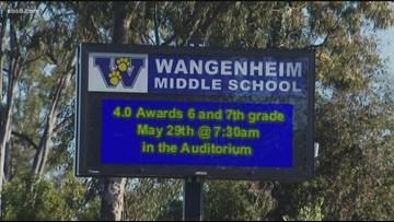 Wangenheim Middle School student bullied, wallet stolen