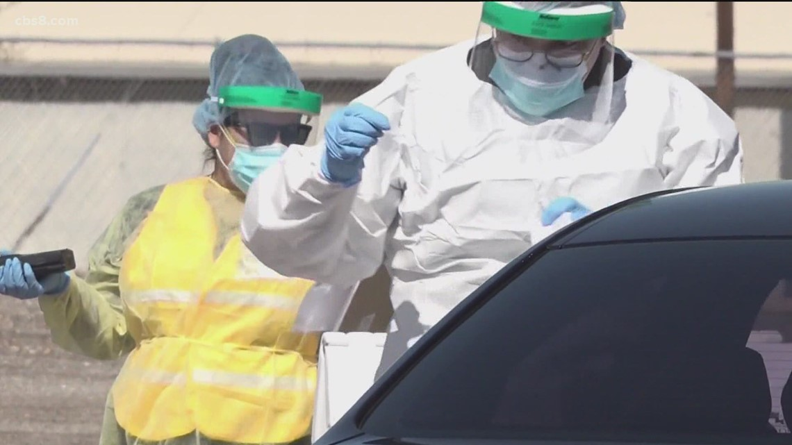 San Diego County officials consider opening up more COVID testing sites as cases increase