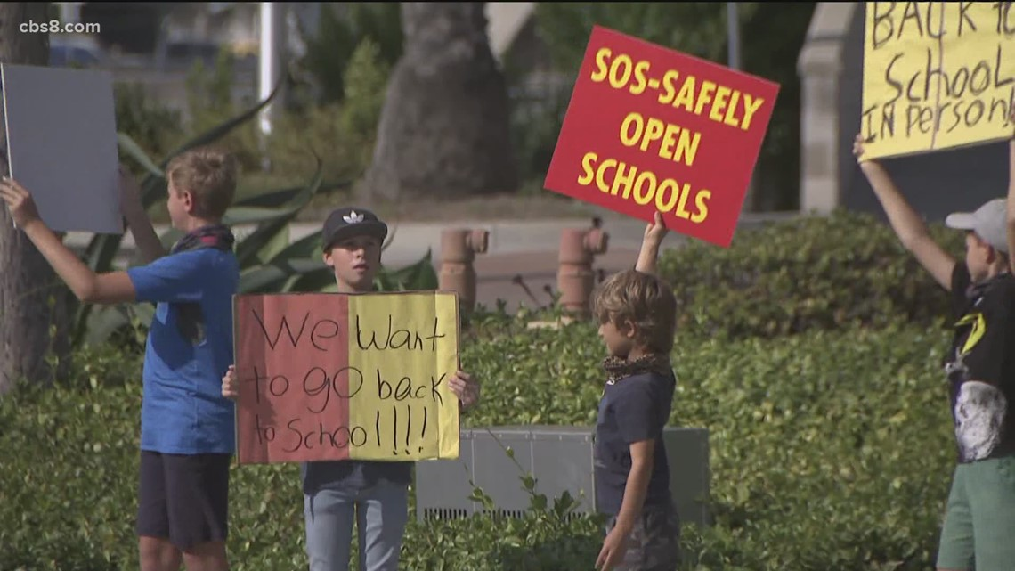 San Marcos parents plan rally to get schools open five days a week for in-person instruction