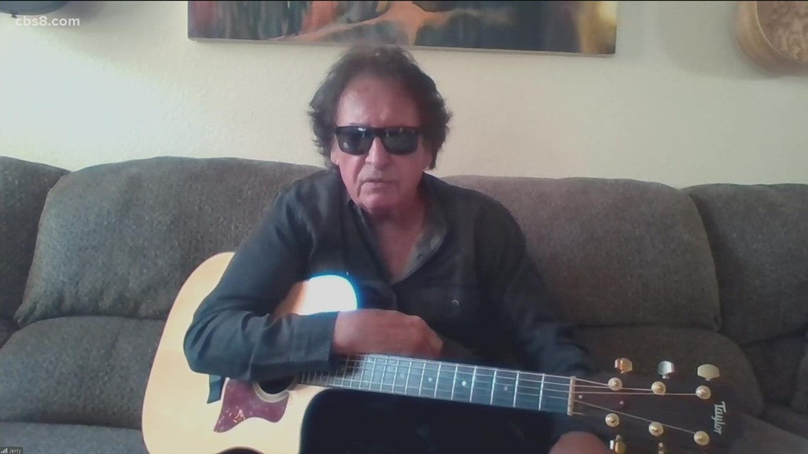 Guitarist Jerry Raney of 'The Farmers'