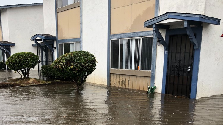 South Bay Apartment Complex Flooding