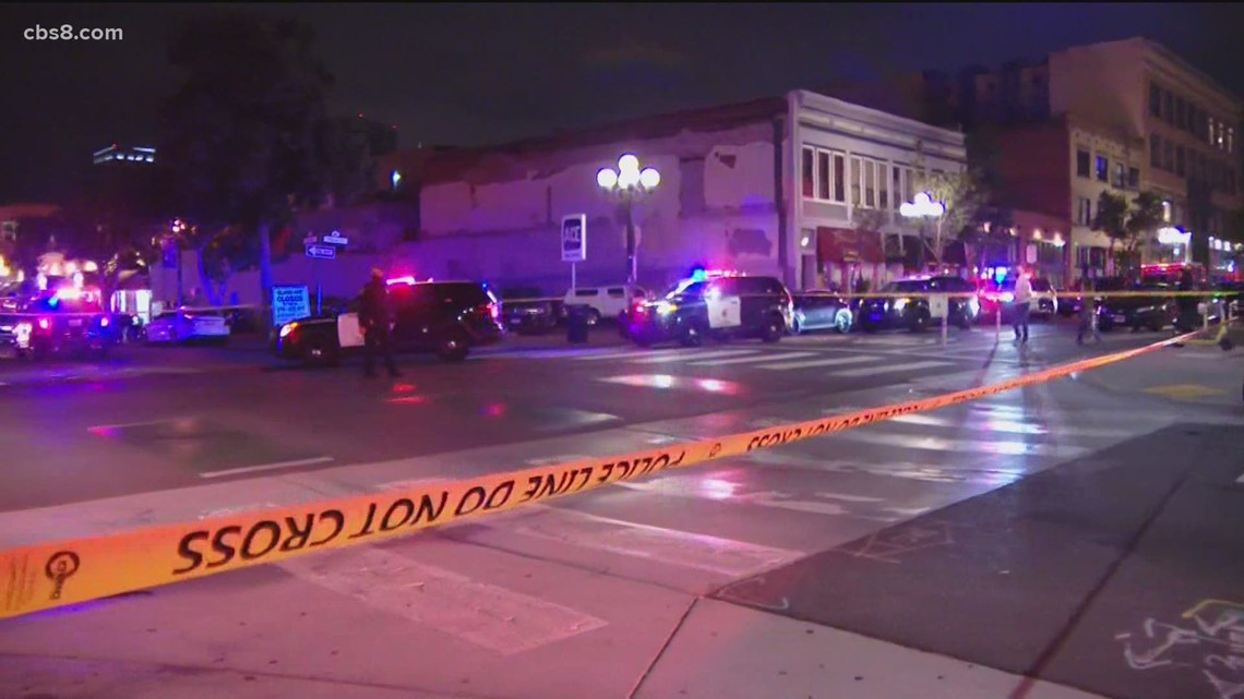 Victims identified in Gaslamp shooting spree