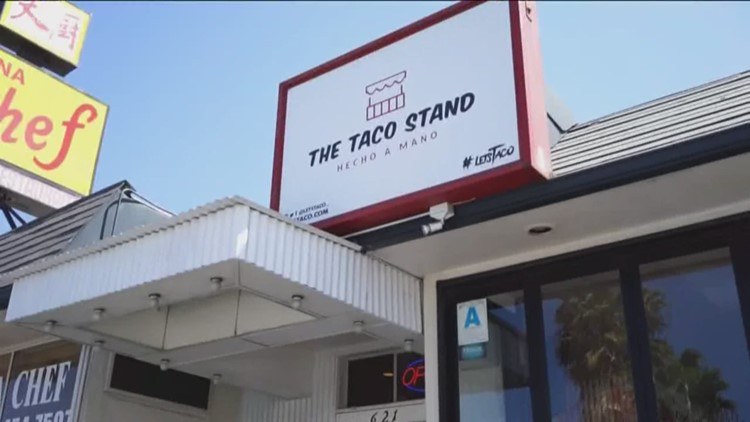 Celebrating Taco Tuesday with takeout at The Taco Stand