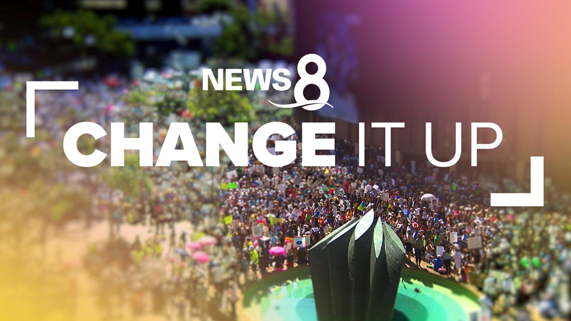CHANGE IT UP! Impact. Volunteer. Take Action.