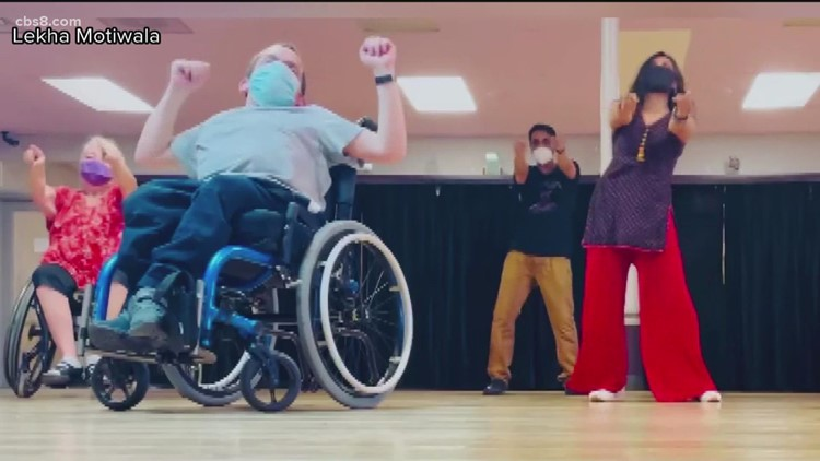 Free 'inclusive Bollywood' dance classes delight wheelchair dancers
