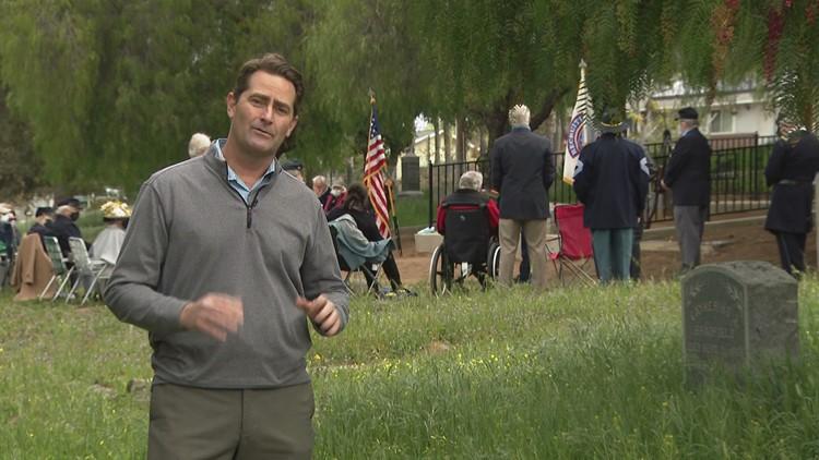 Grave of 'Civil War Hero' receives new life in Fallbrook