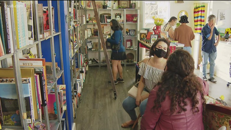 Barrio Logan bookstore writes new chapter for local authors and artists
