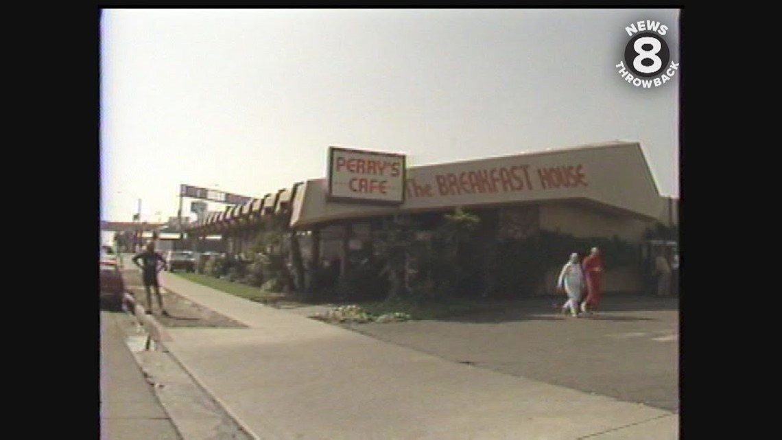 Perry's Cafe in San Diego in 1987