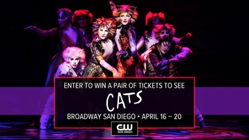 CATS is coming to Broadway San Diego on April 16 – 20. Here's how you can win tickets!