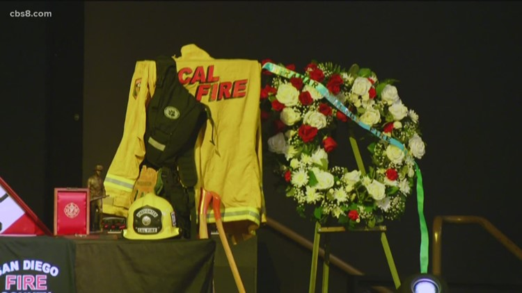 Celebration of life honors Cal Fire firefighter from Escondido