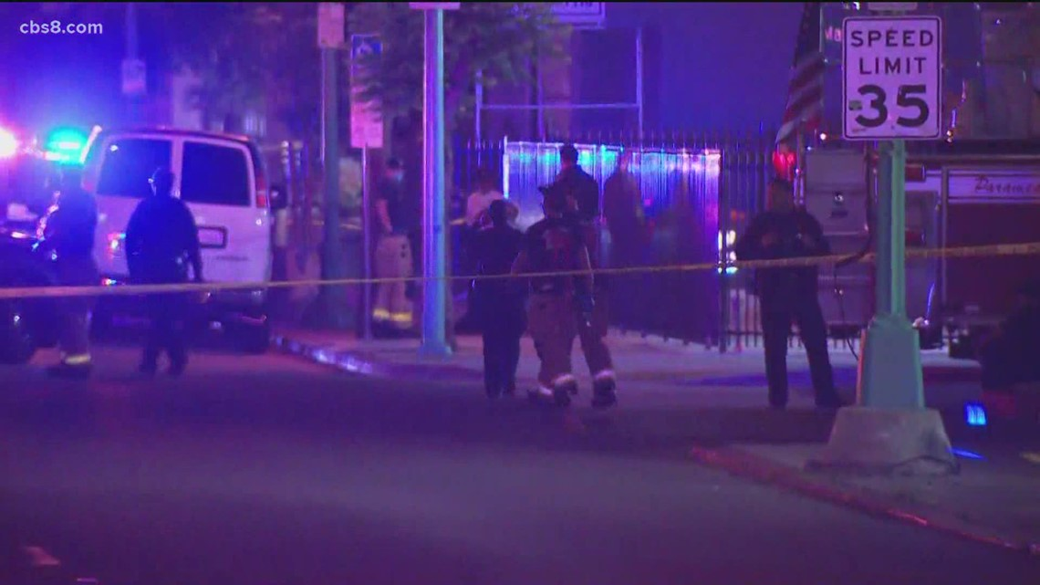 Officer involved shooting in City Heights