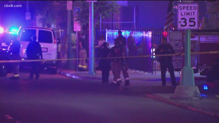 Suspect in two San Diego shootings dead after pursuit in officer-involved shooting