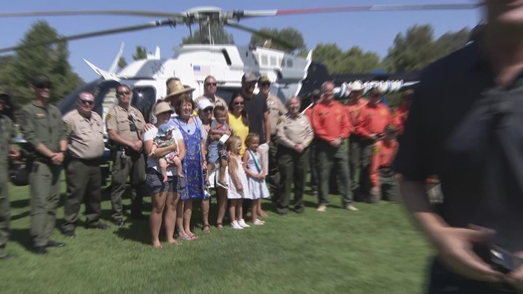 6-year-old girl rescues 71-year-old man lost with Alzheimer's in Ramona, San Diego
