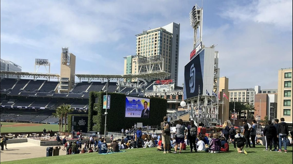Innovate 8: Padres Weather Education Day at Petco Park