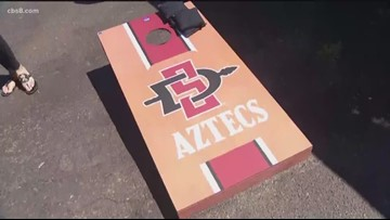 San Diego State fans excited for the team's home opener