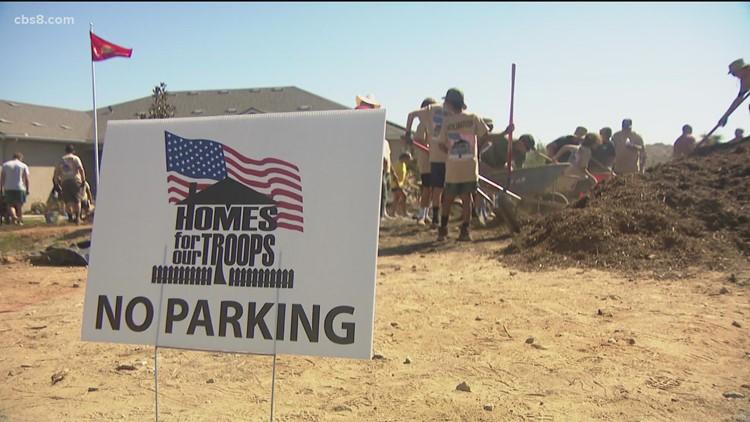 New neighbors: Volunteers building former Marines new homes in Escondido