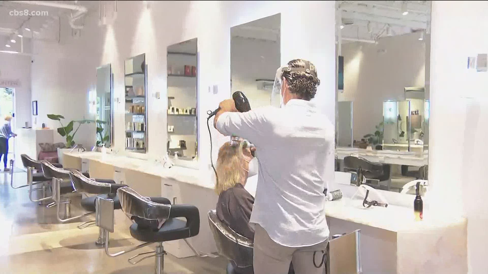 Hairstylists and barbershops get the green light to reopen