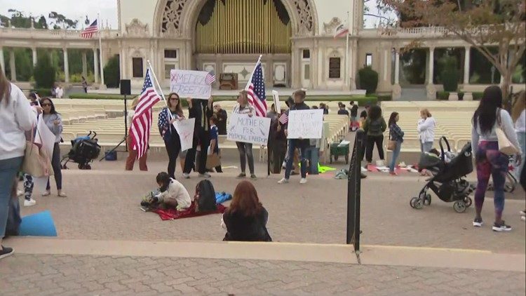 San Diego parents participate in statewide 'sit-out' to protest school vaccine mandate