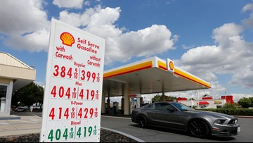 California gas tax to rise by 5.6 cents a gallon Monday