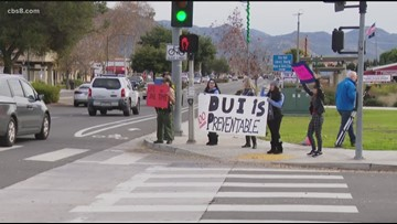 North County students hold drugged-driving prevention rally