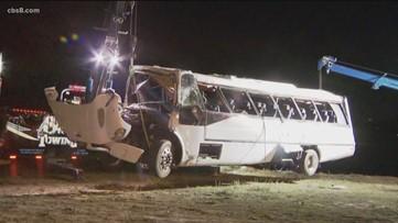 NTSB coming to San Diego to investigate Pala Mesa bus crash