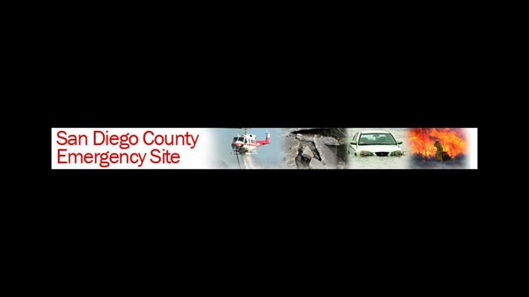 San Diego County Emergency Site
