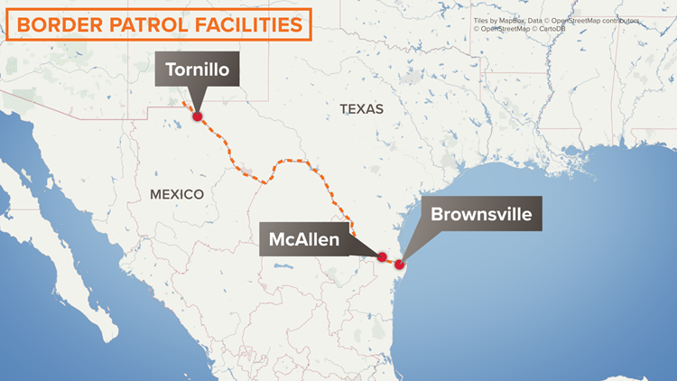 Border Patrol Facilites - June 18
