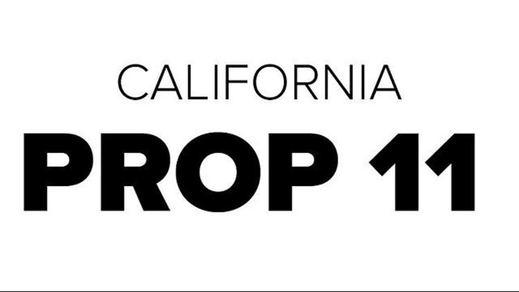 CA PROP 11
