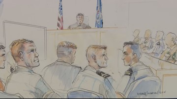 Day 2: Witness: Navy SEAL called dead prisoner an 'ISIS dirtbag'