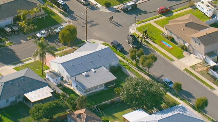 Police arrest man after daylong standoff in Chula Vista, wife found deceased inside home