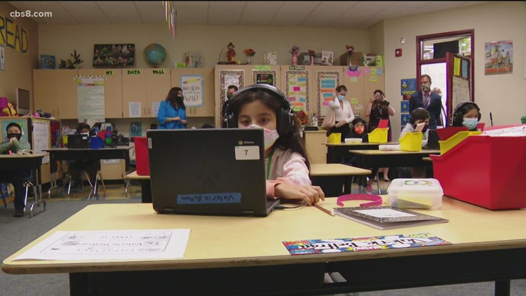San Diego schools reopen 2 months before closing for summer