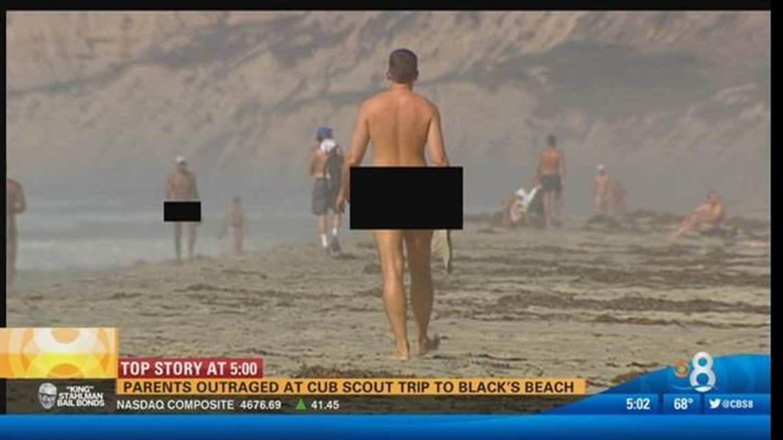 Gas Prices San Diego >> Parents outraged at Cub Scout trip to Black's Beach | cbs8.com