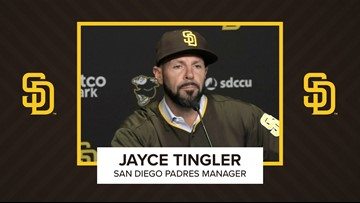 San Diego Padres introduce Jayce Tingler as new manager