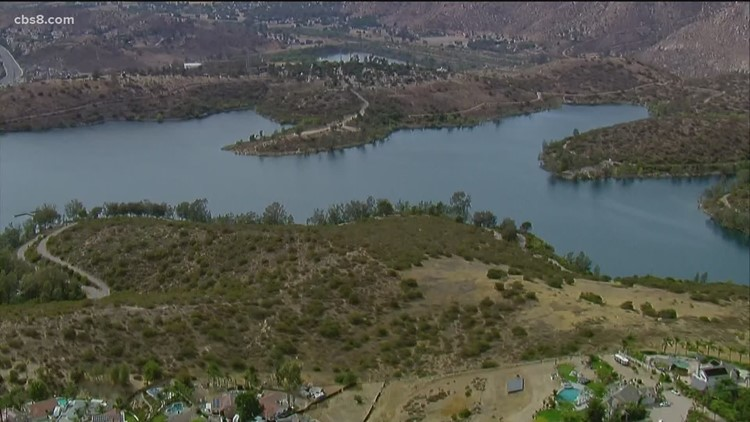 How San Diego County reservoirs levels look amid California drought